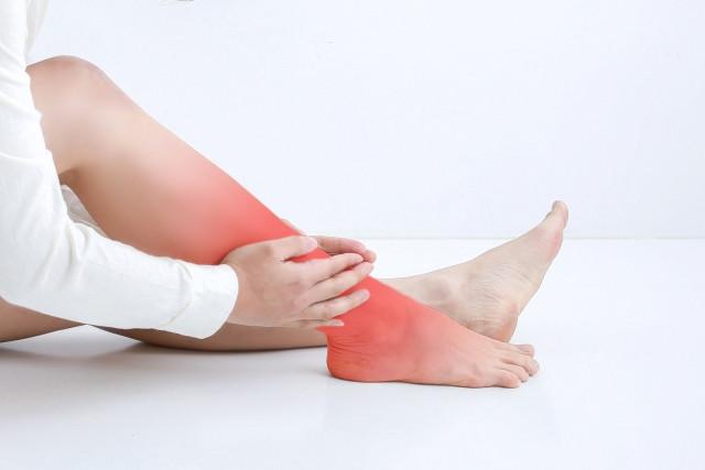 足首の痛み(12年前~)